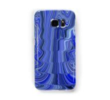 Ripple Abstract Blue Samsung Galaxy Case/Skin