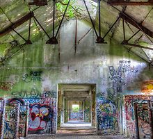 Brenton Point Stables Abandoned 5 by Joshua McDonough Photography