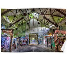 Brenton Point Stables Abandoned 5 Poster