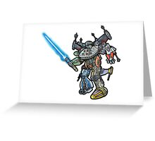 Star Wars Voltron 2 Greeting Card