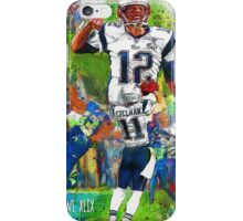 New England Patriots Win Super Bowl XLIX  iPhone Case/Skin