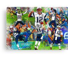 New England Patriots Win Super Bowl XLIX  Canvas Print