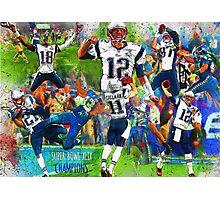 New England Patriots Win Super Bowl XLIX  Photographic Print