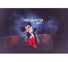mickey in fantasmic. Photographic Print