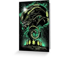 Alien Universe Greeting Card