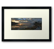Sunset at Castle Lachlan Framed Print