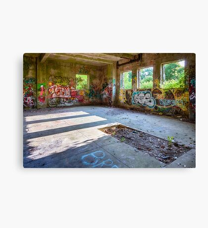 Brenton Point Stables Abandoned 4 Canvas Print