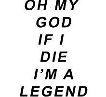 Legend [Black] by scarammanga
