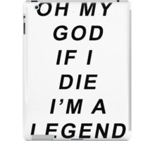 Legend [Black] iPad Case/Skin