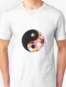 Flower Yin Yang T-Shirt