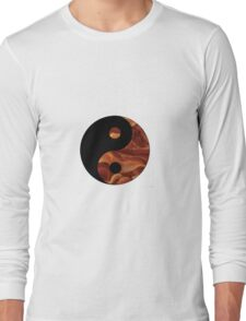 Bacon Yin Yang Long Sleeve T-Shirt