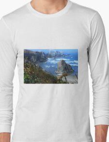The Bluff Above a Blue Ocean Long Sleeve T-Shirt