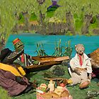 Wind in the Willows - River bank picnic by MicksPhotoArt