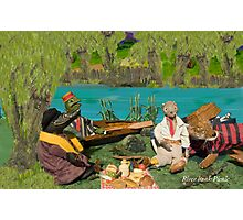 Wind in the Willows - River bank picnic Photographic Print