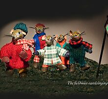 Wind in the Willows - The fieldmice carol singing by MicksPhotoArt