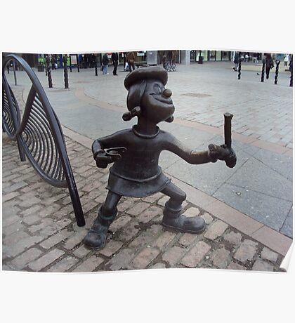 Minnie the Minx Poster
