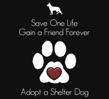 Adopt a Shelter Dog Kids Clothes