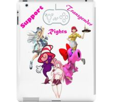 Trangender videogame rights, the new frontier iPad Case/Skin