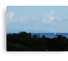 Peaceful Sailing Canvas Print