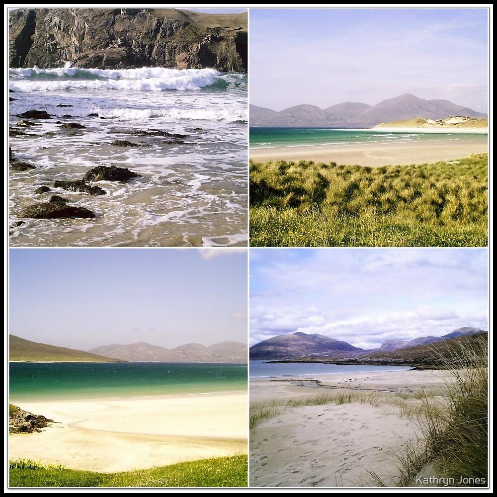 A Seascape Collage by Kathryn Jones