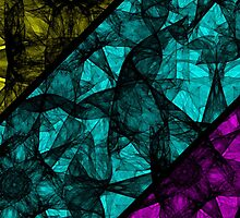 Abstract Colorful Background by Medusa81