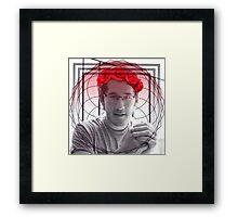 Red Markiplier  Framed Print