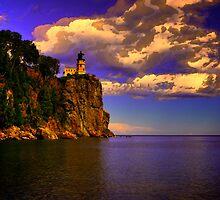 Split Rock Lighthouse by Trenton Purdy