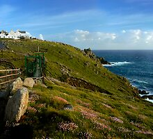 Lands End Panorama, Cornwall by rodsfotos