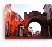 The North Gate - Carrickfergus Canvas Print