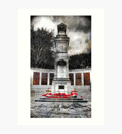 Memorial 3 Art Print