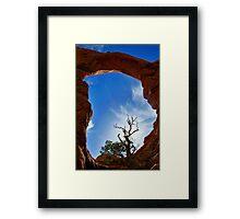 Arch.. Framed Print