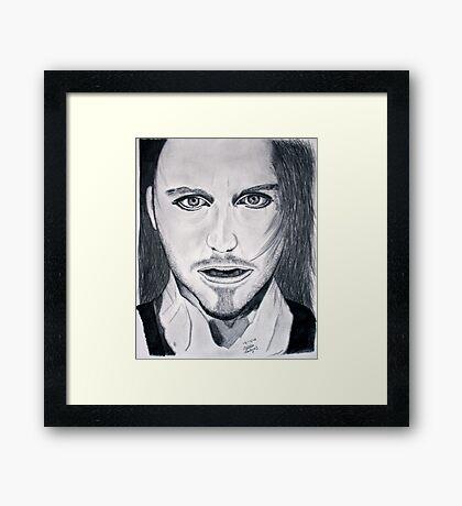 Tim Minchin Pencil Drawing Framed Print