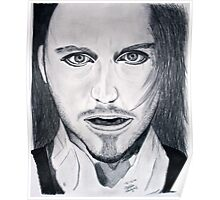 Tim Minchin Pencil Drawing Poster