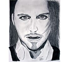 Tim Minchin Pencil Drawing Photographic Print