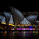 Pirate Sails - Sydney Vivid Festival - Australia by Bryan Freeman