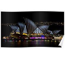 Pirate Sails - Sydney Vivid Festival - Australia Poster