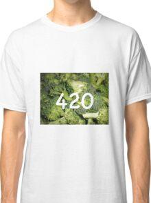 420 Broccoli Classic T-Shirt