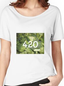 420 Broccoli Women's Relaxed Fit T-Shirt