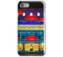 Hot Lips - Customs House - Sydney Vivid Festival - Australia iPhone Case/Skin