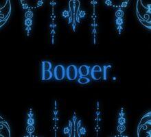 Booger (alternate) Sticker