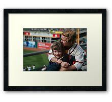 1st Baseball Game Framed Print