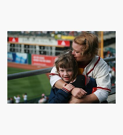 1st Baseball Game Photographic Print