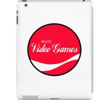 Enjoy Video Games iPad Case/Skin