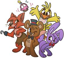 Freddy and Friends by ninied