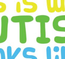 Autism Cutie 2 Sticker