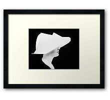 Flying Nun Framed Print