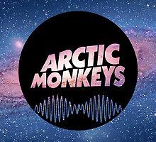 Arctic Monkeys Galaxy Nebula by oldesk