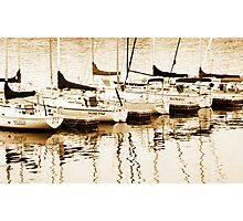 Boats for sail Photographic Print