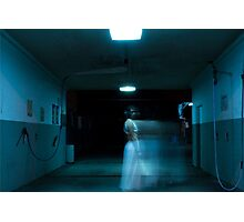 The Woman In White - pt2 Photographic Print