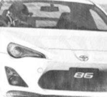Toyota 86 - Hachi Roku Sticker